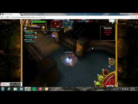 Arcane Legends 1v1 CTF Maridos Vs Nekro