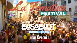 La Tomatina Festival with Busabout - Buñol, Spain