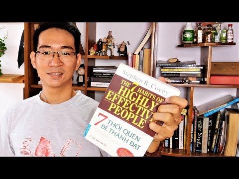 ►63 | Review Sách Hay | 7 Thói Quen Để Thành Đạt - 7 Thói Quen Hiệu Quả - Stephen Covey