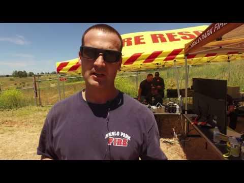 Menlo Park Fire Drone Training Demo
