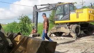 Interstate Drive Drainage Work Part 2,  9-9-16