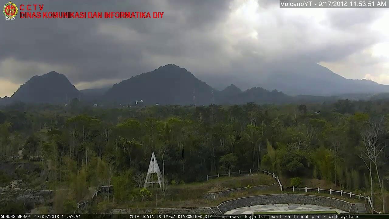17/9/2018 WITA - Mt Merapi TimeLapse