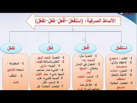بناء الجملة 1 - نهاية الفصل الدراسي الأول- اللغة العربية - الصف الحادي عشر متقدم و تأسيسي