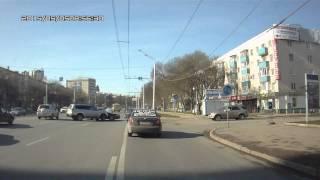 ДТП на проспекте, в районе остановки Юрюзань