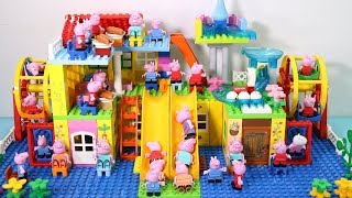 Peppa Pig Lego House Creations With Water Slide Toys For Kids #3
