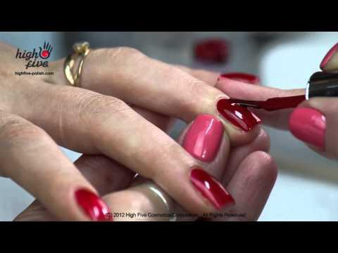 Как покрывать ногти гель-лаком High Five дома