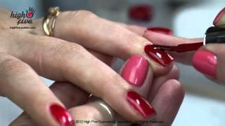 Как покрывать ногти гель-лаком High Five дома(, 2012-12-10T20:35:35.000Z)