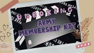 Army Membership Kit (2019-2020) | Unboxing (Philippines)