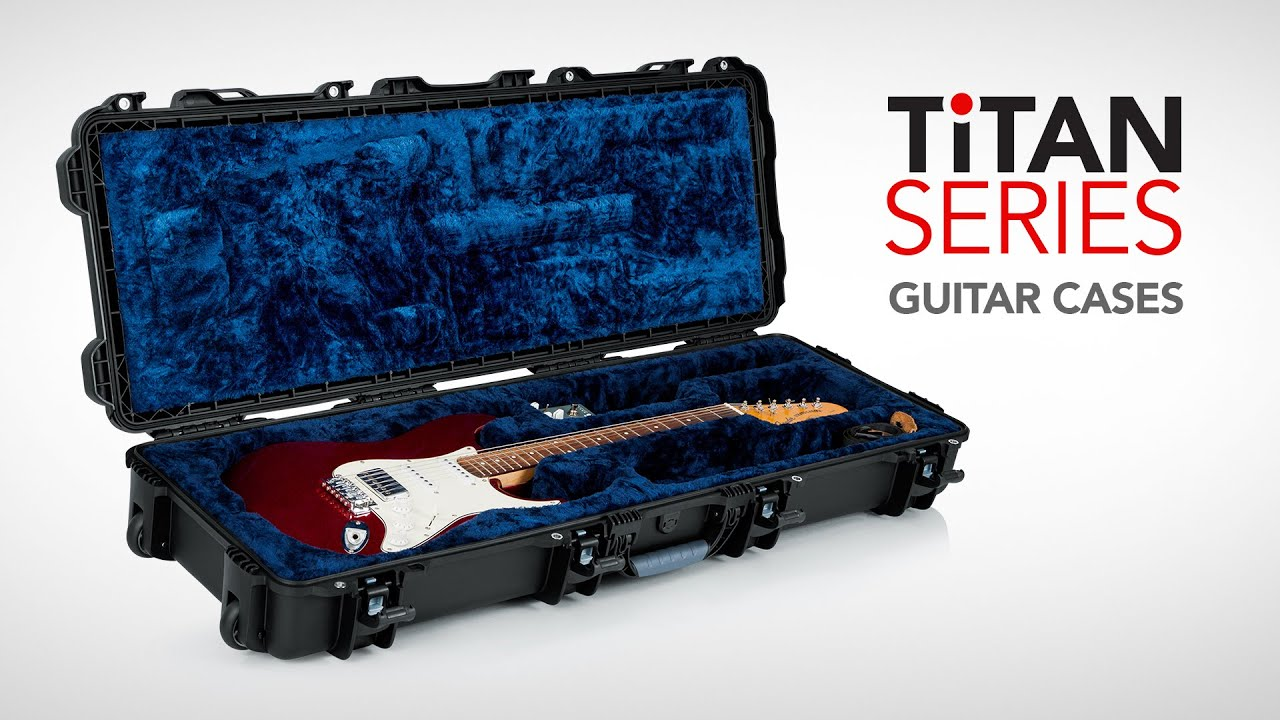 series titan guitar case gator cases