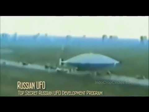 Russian UFO Anti-Gravity Technology Caught On Old Video