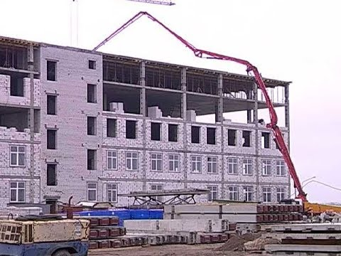 В Курске продолжается возведение 3 й очереди онкоцентра