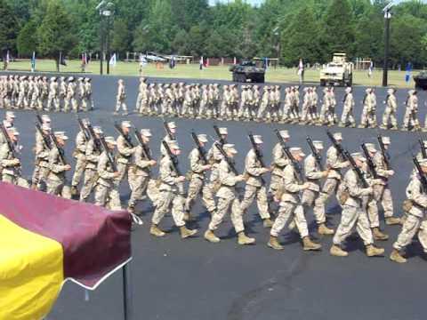 2012 Marine Corps OCS Graduation Parade 1st Increment
