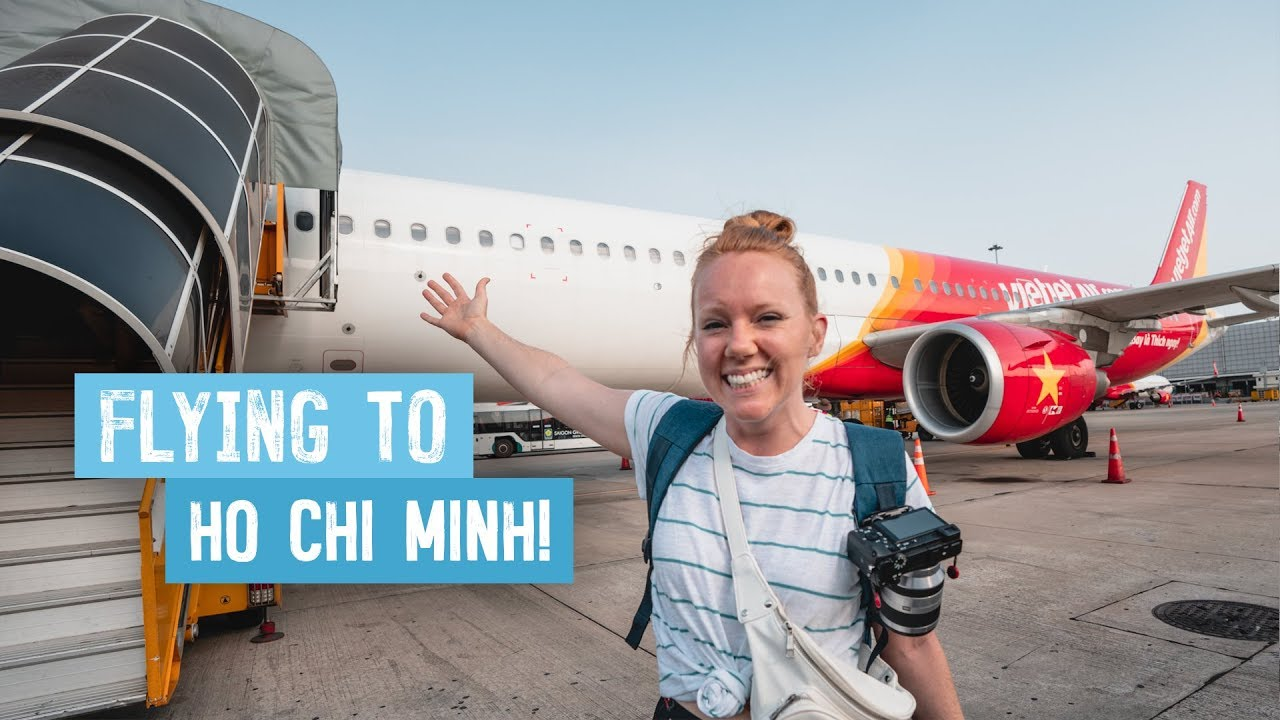 Our First Time to SAIGON, VIETNAM! – Hoi An to Ho Chi Minh City via VietJet Air!