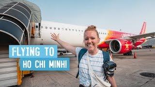 Our First Time to SAIGON, VIETNAM! - Hoi An to Ho Chi Minh City via VietJet Air!