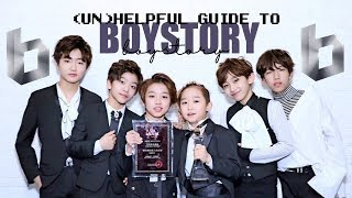 GUIDE TO BOYSTORY