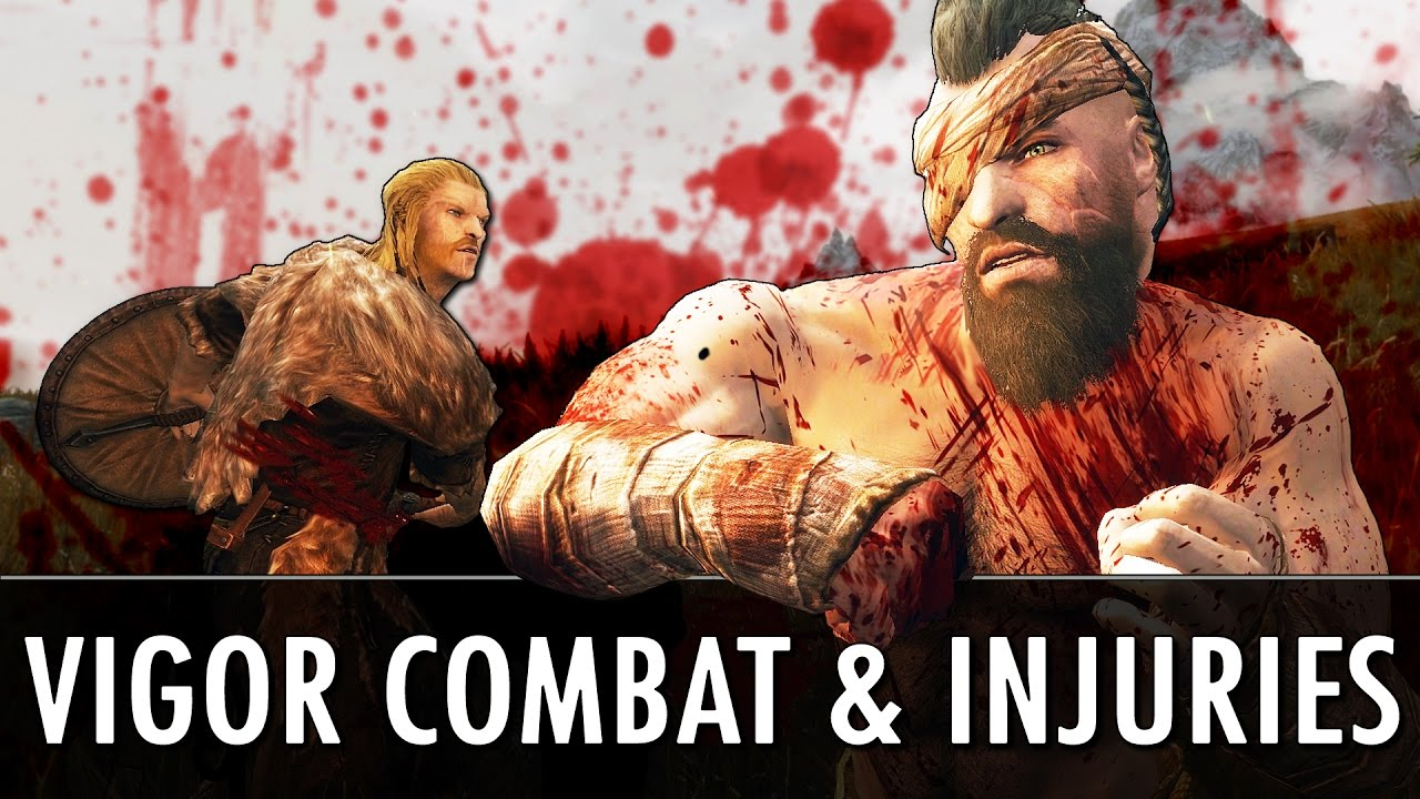 The Skyrim Mod: 'Vigor — Combat and Injuries' is a Huge Mod