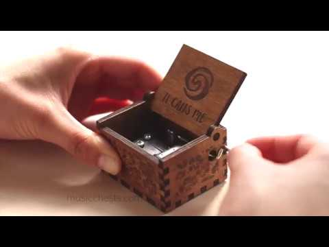 "Moana ""It Calls Me"" Music Box 