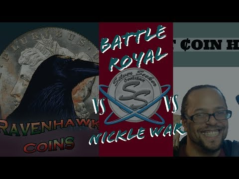 🔴LIVE🔴 ⭐⭐⭐Coin Roll Battle Royal⭐⭐⭐Nickle War Night w/ Silver Seeker Vs RavenHawk Coins Vs FMCH