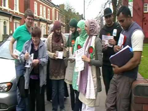 Salma Yaqoob | Campaigning in Birmingham Hall Green