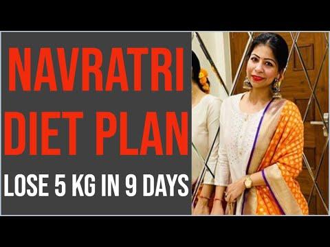 Navratri Special Diet Plan for Weight Loss | Navratri Upvas Recipes | Lose 5kg in 9 Days
