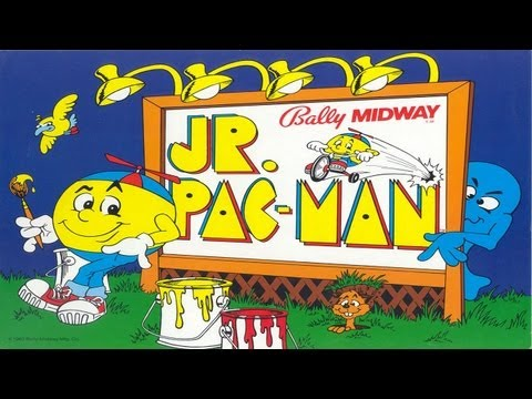 Jr. Pac-Man (Arcade)