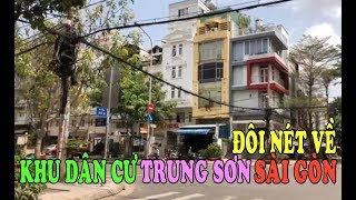 Cuộc Sống Tại VN   Vài Nét   Về   Khu Dân Cư   Trung Sơn   Bình Hưng   Bình Chánh   Sài Gòn   HD  