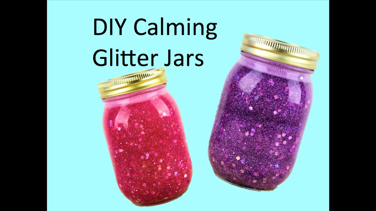 Diy Calming Glitter Jars Youtube