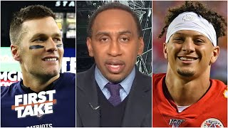 Stephen A. explains why Tom Brady will be the biggest threat to Patrick Mahomes for MVP | First Take