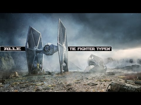 Alle TIE FIGHTER Typen und Varianten! | In Legends