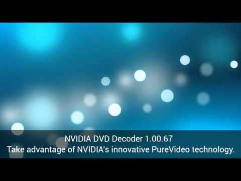 Download NVIDIA DVD Decoder 1.00.67