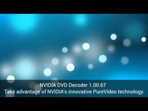 Download NVIDIA DVD Decoder 1.00.67