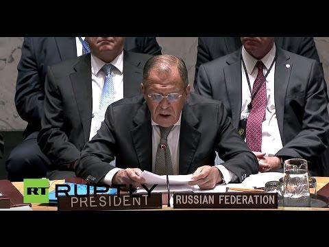 LIVE: Lavrov chairs UN Security Council Debate (English audio)