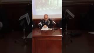 conferenza stampa arresti per rapina e sparatoria