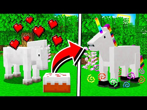 How to SPAWN UNICORNS in Minecraft Tutorial! (Mobile, PS4, Xbox, PC, Switch)