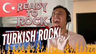 Italian Reaction to Turkish Rock Ft. Şebnem Ferah, Model - Mey, maNga - Bitti Rüya 🎸 🤘 🔥🔥🔥