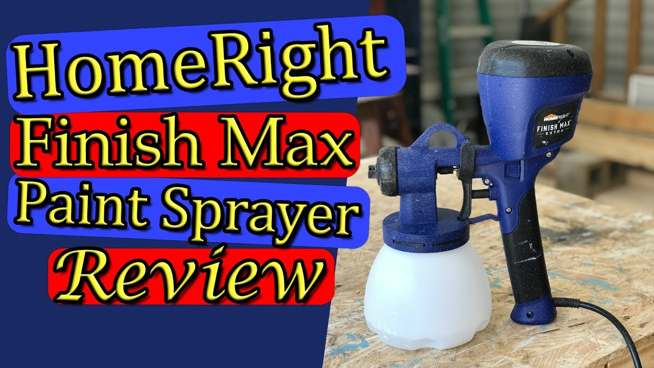 Homeright Paint Sprayer Review