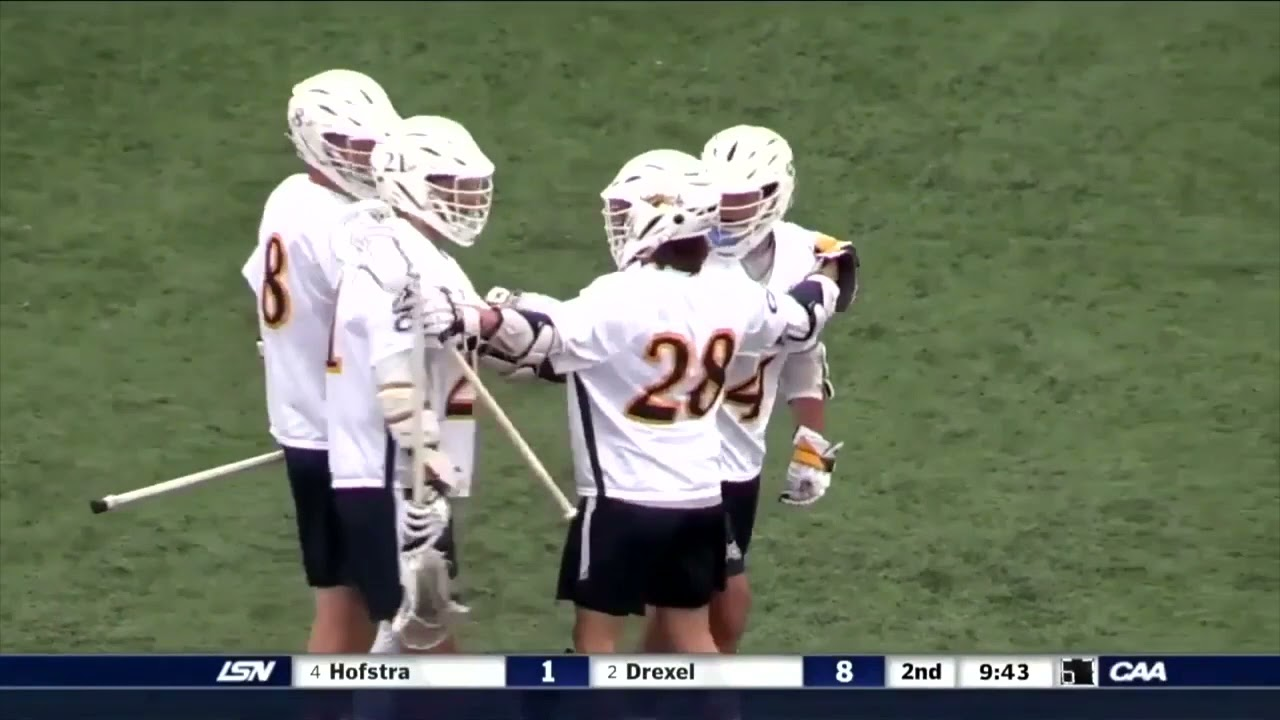 Men's #CAALax​ Championship Highlights Drexel 15, Hofstra 11 1