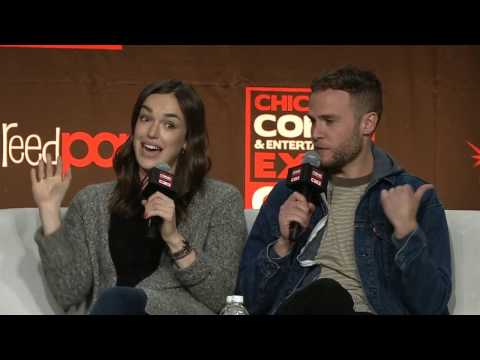 Agents of S.H.I.E.L.D.'s Iain De Caestecker and Elizabeth Henstridge  C2E2 2017