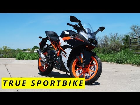 2017 KTM RC390 Review and Initial Impressions