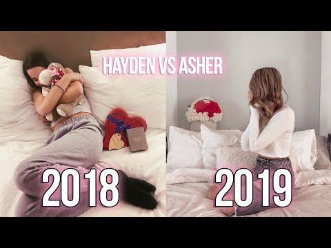 ANNIE LEBLANC'S VALENTINES DAY 2018 vs 2019!