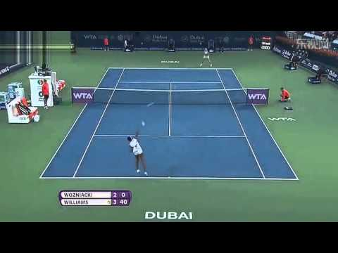 Caroline Wozniacki vs. Venus Williams | Full Highlights | Dubai Tennis Championships 2014(SF)