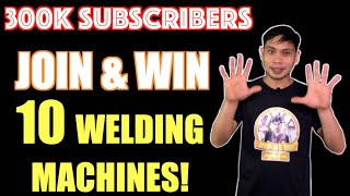 JOIN AND WIN !!! 10 WELDING MACHINES WILL BE GIVEN AWAY