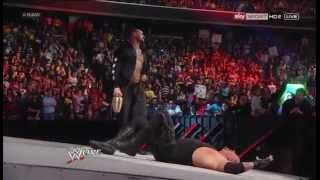 THE UNDERTAKER & CM PUNK SEGMENT WWE RAW 1ST APRIL 2013
