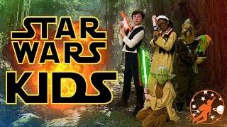 Star Wars Kids 7 - Han Solo, Chewbacca and Yoda vs Shrink Gun