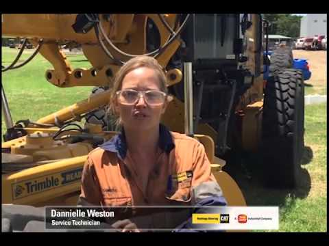 Dannielle Weston - Diesel Fitter  Your employer: Hastings Deering (Australia) Ltd
