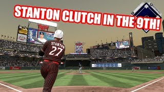 STANTON CLUTCH IN THE 9TH! EPIC 16 INNING GAME!  - MLB The Show 17 Diamond Dynasty Gameplay
