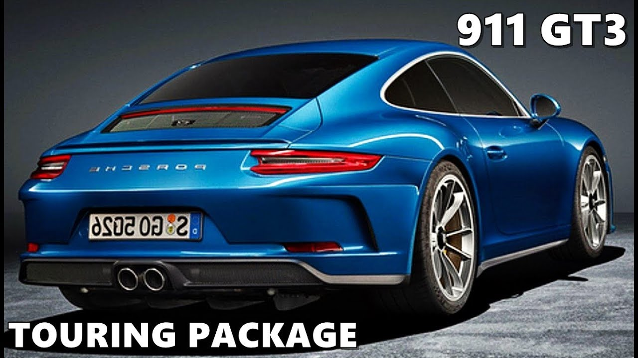 porsche 911 gt3 touring package 2018 first look youtube. Black Bedroom Furniture Sets. Home Design Ideas