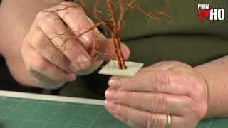 Jak wykonać model drzewa z... drutu?