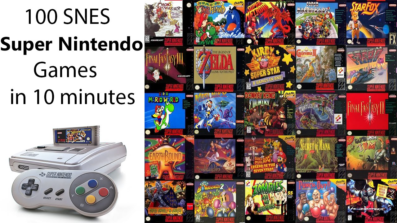 how to download super nintendo games