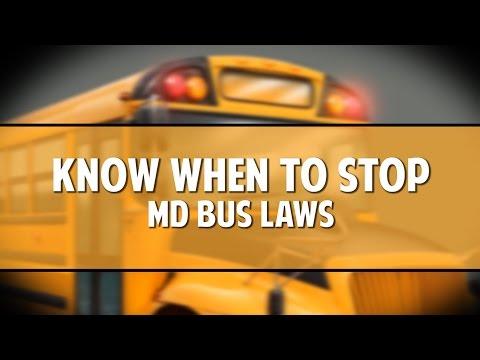 Know When to Stop Bus Law Public Service Announcement